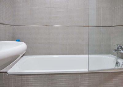 pension baño