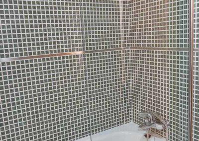 baño pension camino de santiago