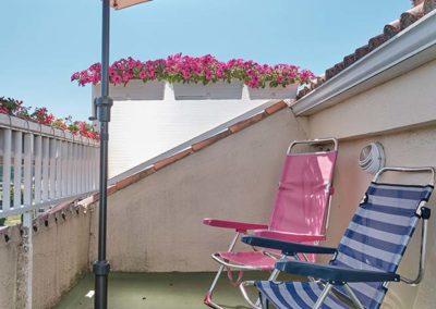 terraza pension o pedrouzo
